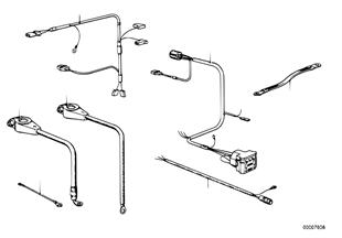 Akümülatör kablosu/Şasi kablosu