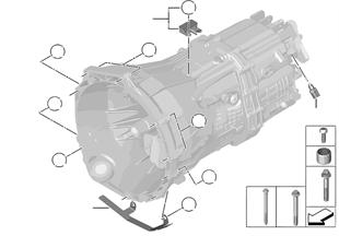 Getriebe Befestigung/Anbauteile