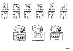 Control unitrelais connections