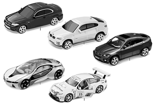 BMW-miniaturen — Sets 2011/12