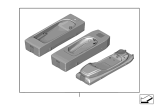 Snap-in adapter for SIEMENS devices