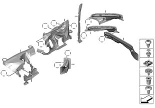 Aanbouwdelen motorruimte