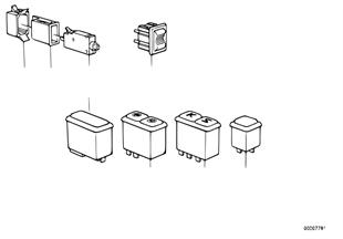 Contacteur-console centrale