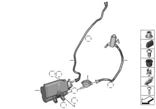 Filtro de carbon act./ventilac.combustib