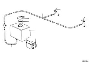 Επιμ.εξαρτήμ. σύστημα πλυστικής παρμπρίζ