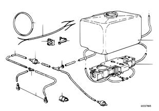 Επιμ.εξαρτ. σύστημα πλυστικής προβολέων