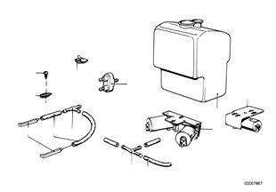 Sistema de limpeza dos faróis