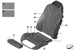 Kişisel klimalı spor koltuk deri döşeme