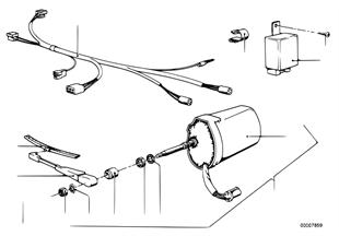 Extra set koplamp-reinigingsinstallatie