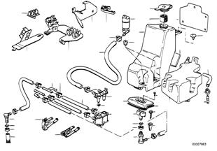 전조등 세척장치
