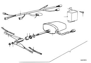 İlave donanım seti, Far yıkama sistemi