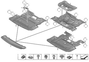 Schermatura vano motore