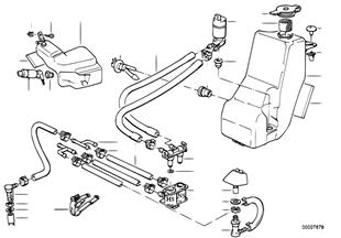 개별 부품,전조등 세척장치