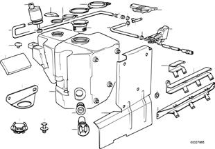 Instalacion del lavaparabrisas