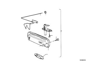 Inzetstel motorruimverlichting