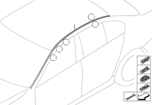 Dachzierleiste/Dachreling