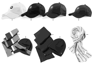 BMW Collection-Bonnets/foulards 2012/13