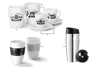 BMW Collection — Cups / Bottles 2012/13