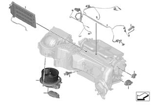 ชิ้นส่วนอุปกรณ์ไฟฟ้าระบบปรับอากาศ