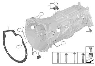 Getriebe Anbauteile/Befestigung