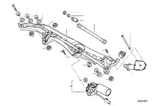 Single wiper parts