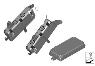 Unidad de mando cámara de marcha atrás