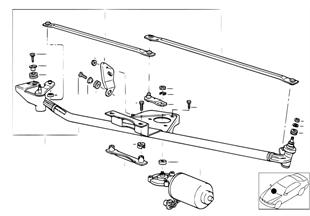 Münferit parçalar, Cam silme sistemi