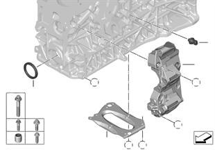 Blok motoru/montážní díly