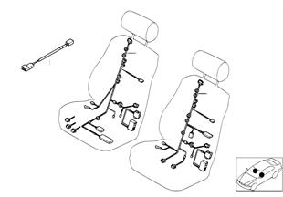 배선,전동 조절식 기본-시트