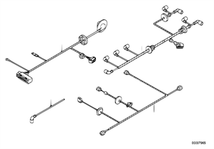 Towing device wiring/pdc/engine hood