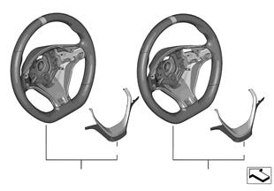 Рулевое колесо M Performance без диспл.