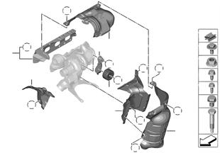Pare-chaleur pour turbocompresseur