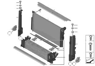 Cooling system — radiator / add-on parts
