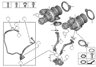 Turbocompressor com lubrificação