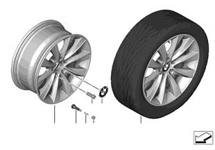 "BMW LM Rad V-Speiche 425 — 18"""