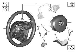 Volante M sport, airbag, multifunzionale