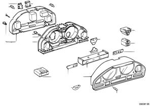 Gösterge paneli-Münferit parçalar