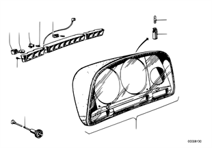 Instrumentenkombination-Einzelteile