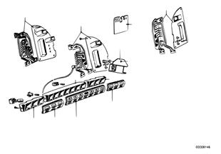 Lišta kontrolek/plošný spoj