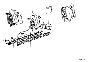 Kontrollleuchtenleiste/Leiterplatte