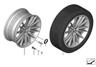 "BMW LM Rad V-Speiche 426 — 19"""