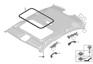 Montaj parçaları, tavan kaplaması