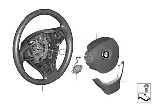 Volante airbag multifunción