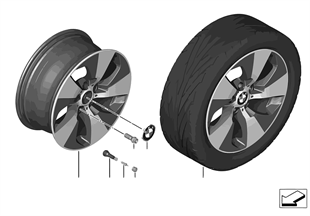 BMW LA wheel Streamline 419 — 18''