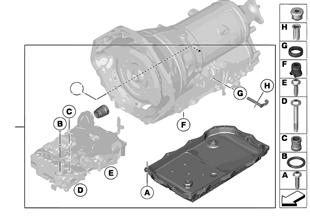 GA8HP45Z セレクター シャフト