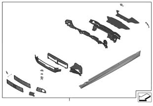 Naderh.inbouw, M aërodynamica-pakket