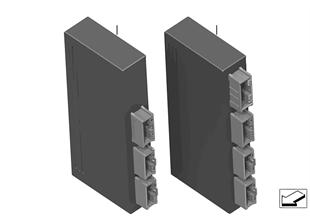 Sterownik modułu funkc. tylnej klapy