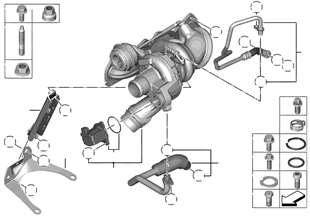 Turbo-compresseur avec lubrification