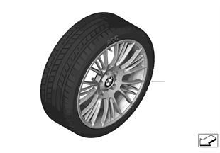 Winter tire and wheel, Radial Spoke 388