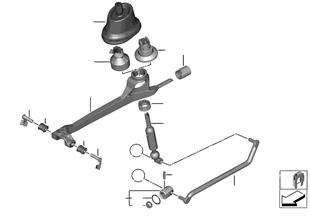 Schaltung mechanisches Getriebe